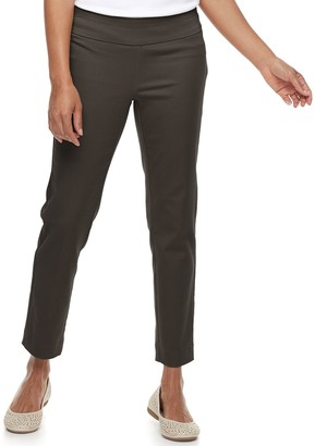Croft & Barrow Petite Effortless Stretch Pull-On Pants