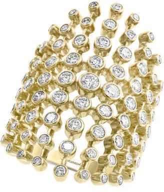 Effy Diamond Multi-Bezel Statement Ring (1-5/8 ct. t.w.) in 14k Gold