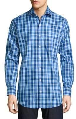 Peter Millar Crown Plaid Button-Down Shirt