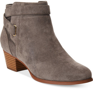 Giani Bernini Oleesia Booties, Created for Macy's Women's Shoes $99.50 thestylecure.com