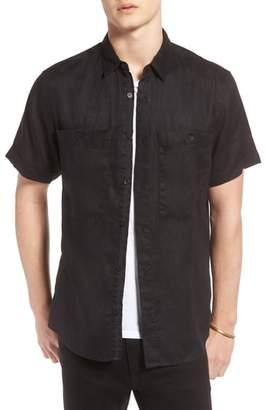 Treasure & Bond Pocket Linen Sport Shirt