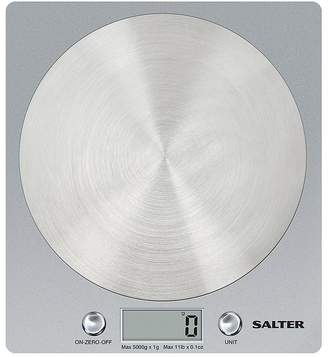 Salter 1036 Disc Electronic Kitchen Scale Silver