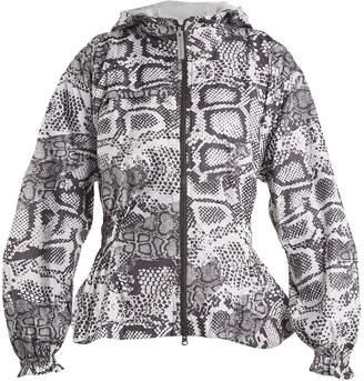 adidas by Stella McCartney Run Excl python-print performance jacket