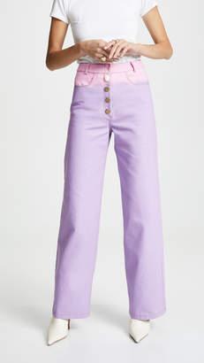 REJINA PYO Ombre Lavender Jeans