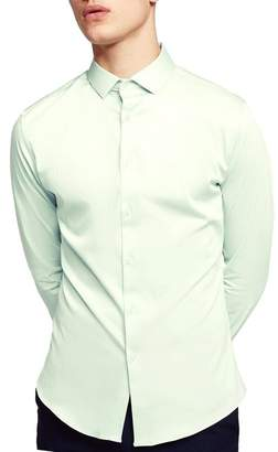 Topman Stretch Cotton Shirt