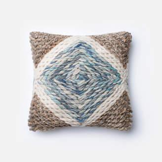 Lulu & Georgia Blue Diamond Pillow