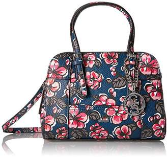 GUESS Huntley Floral Small Cali Satchel