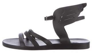 Ancient Greek Sandals Rubber Ankle Strap Sandals