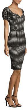 Nanette Lepore Cheeky Check Dress $448 thestylecure.com