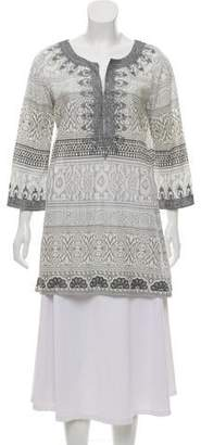 Calypso Embellished Key-Hole Tunic