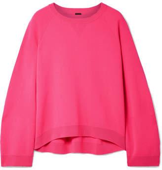 ADAM by Adam Lippes Oversized Merino Wool Sweater - Bright pink