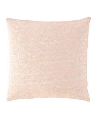 """Pine Cone Hill Glaze Sequin Slipper Pink Decorative Pillow, 18""""Sq."""