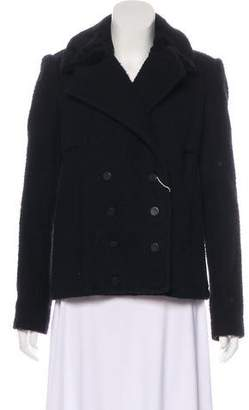 Alexander Wang Wool Double-Breasted Coat