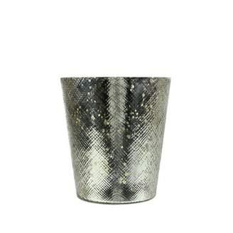 "Northlight 5.5"" Decorative Shiny Silver Mercury Glass Votive Candle Holder"