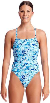 Funkita Girls Commonwealth Games Flying Scotty Strapped In One Piece