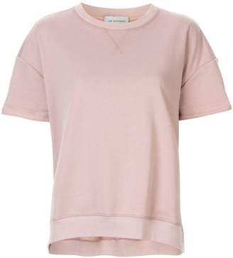 Vince Lee Mathews fleece short-sleeve sweatshirt