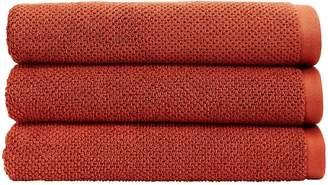 Christy Brixton Luxury Textured 100% Cotton Towel Collection - Saffron