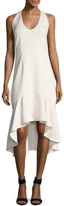 Ava & Aiden Women's Halterneck Flounce Dress