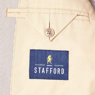 STAFFORD Stafford Brown Classic Fit Pincord Sport Coat - Big and Tall