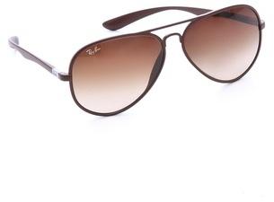 Ray-Ban Matte Aviator Sunglasses