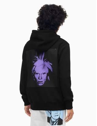 Calvin Klein warhol portrait regular fit hoodie