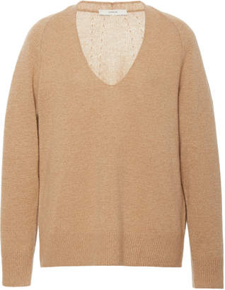Vince Marled Wool-Cashmere Blend Sweater