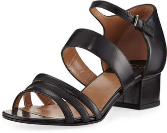 Laurence Dacade Nanou Metallic Strappy Sandals