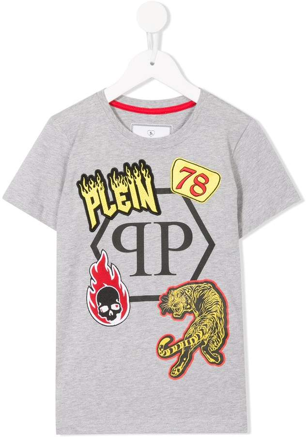 Philipp Plein Junior embellished T-shirt
