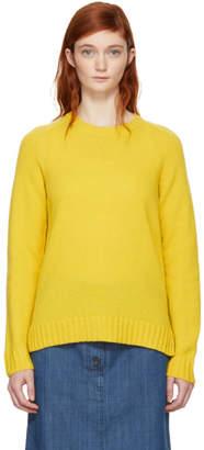 A.P.C. Yellow Vivian Sweater