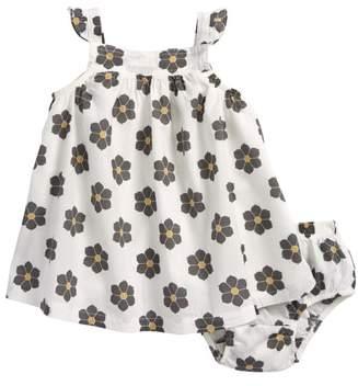Robeez R) Floral Print Sleeveless Dress