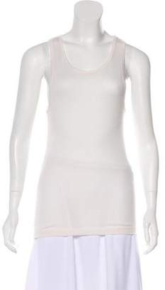 The Elder Statesman Cashmere-Blend Sleeveless Top