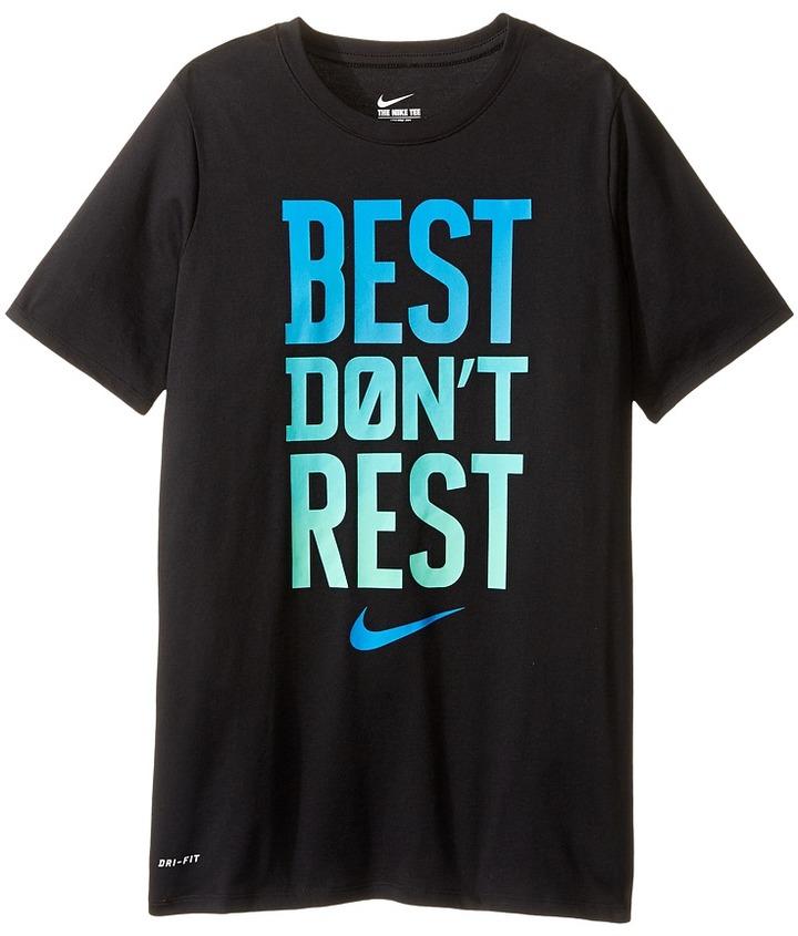 Nike Kids DFCT Best Don't Rest Tee (Little Kids/Big Kids)