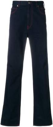 Calvin Klein contrast stitch jeans