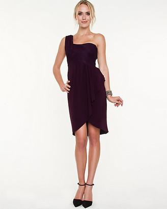 Le Château Lace One-Shoulder Dress
