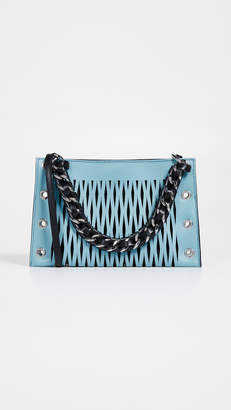 Sonia Rykiel Perforated Chain Bag