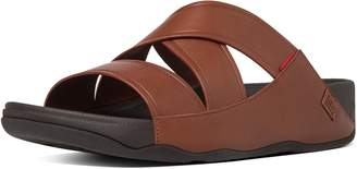 FitFlop Chi Leather Slide Sandals