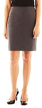 JCPenney Worthington® Seamed Pencil Skirt - Petite