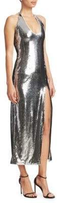 Galvan Chrome Ellipse Dress
