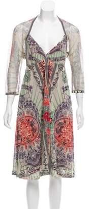Jean Paul Gaultier Printed Midi Dress
