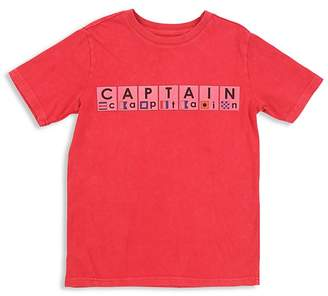 Butter Shoes Boys' Nautical Captain Tee - Big Kid