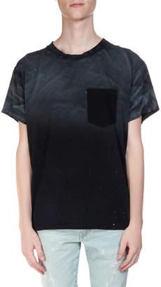Amiri Men's Ombre Plaid Flannel Long-Sleeve Shirt