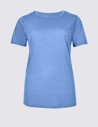 Marks and Spencer Relaxed Crew Neck T-Shirt