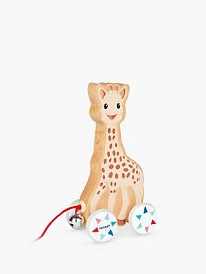 Sophie La Giraffe Pull Along Toy