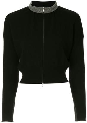 Fabiana Filippi cashmere zipped sweater