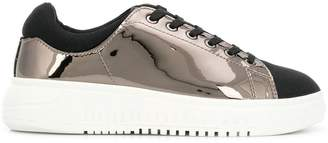 Emporio Armani bicolour sneakers