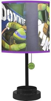 Nickelodeon Ninja Turtles Lamp with Bonus Die-Cut Features and Bulb