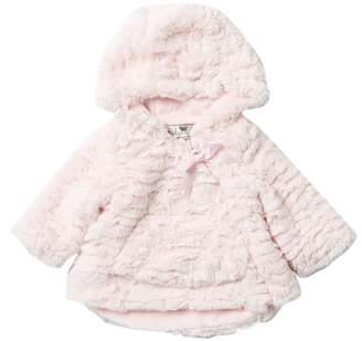 WIDGEON Faux Fur Hilow Hood Jacket (Baby Girls)