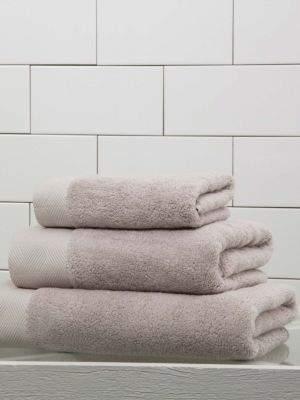 Diamond Border Egyptian Cotton Bath Sheet