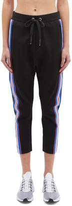 P.E Nation 'Court Run' stripe outseam drop crotch sweatpants