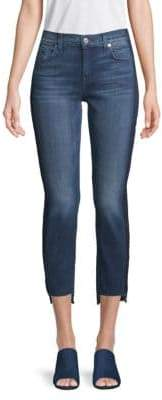 7 For All Mankind Rox Stepped Hem Cropped Jeans